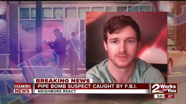 Bixby pipe bomb suspect caught by FBI in Tulsa