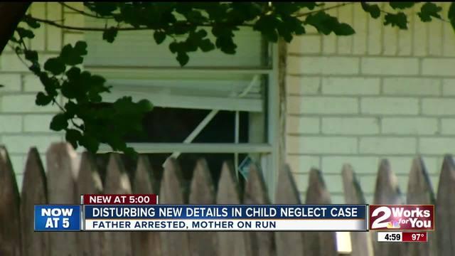 Disturbing details in child neglect case