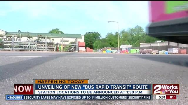 City of Tulsa will reveal new bus rapid transit route