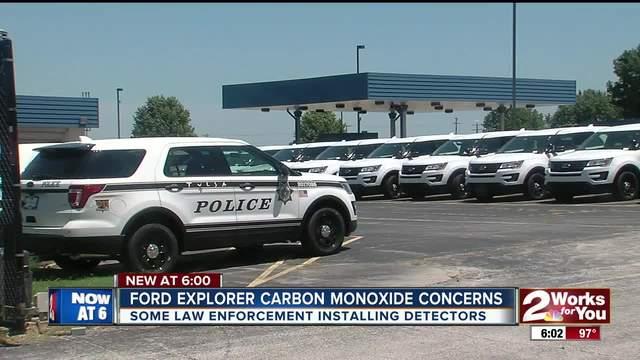Ford Explorer carbon monoxide concerns