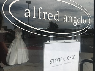 Brides unlikely to get Alfred Angelo dresses