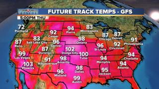 BLOG: Triple digit heat possible this week