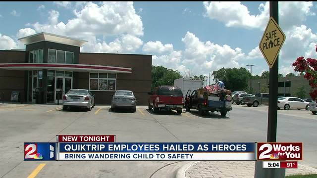 QT employees hailed as heroes