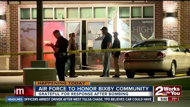 Air Force honoring Bixby community after last week-s bombing