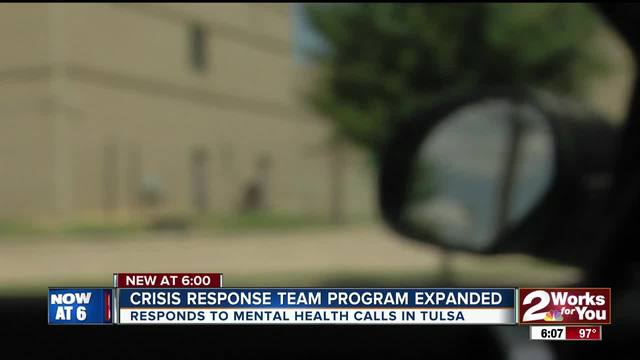 City of Tulsa announces expansion of -Crisis Response Team- for mental…