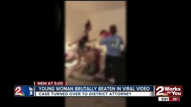 Young woman brutally beaten in viral video