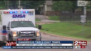 EMSA: 17 heat-related calls in past five days