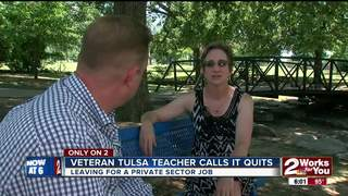 Veteran TPS teacher leaving the classroom