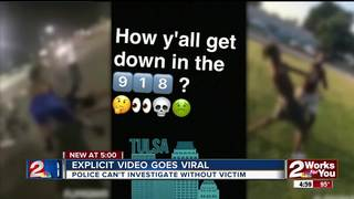 Explicit video of young Tulsans goes viral