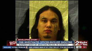 Officer-involved shooting suspect charged