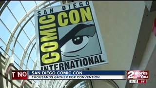 San Diego Comic Con draws thousands of fans
