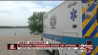 Paramedics go on offense combating heat