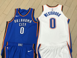 Oklahoma City Thunder unveils new Nike uniforms