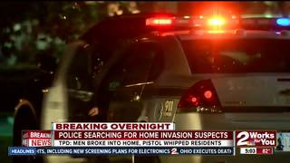 Police: Victims pistol whipped during break in