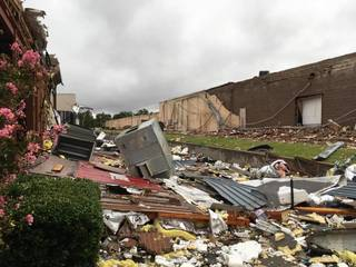 Tornado rips through Tulsa Sunday morning