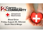 Donate blood at Hillcrest Hospital South Aug. 25