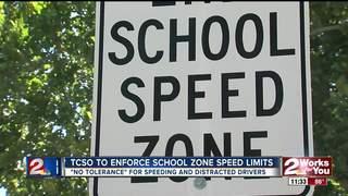 Tulsa deputies increase patrols in school zones