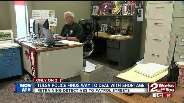 TPD using detectives to help patrol shortage