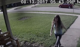 Tulsa police search for accused porch thief