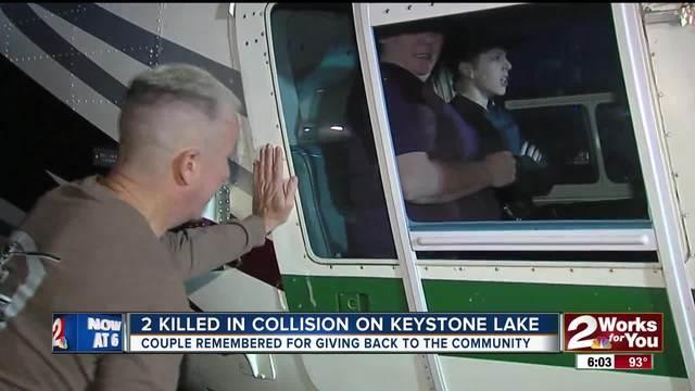 Two Dead In Keystone Water Crash