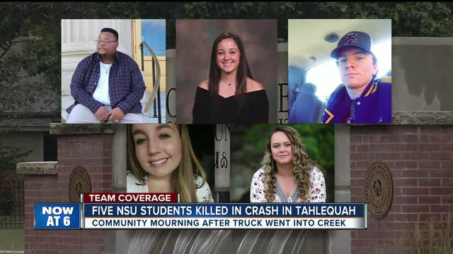 Five people, including Arkansas teen, die when pickup crashes into creek