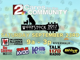 12th Annual Woofstock Sept 23 at Jenks Riverwalk