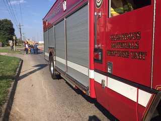 Crews on scene of chemical spill