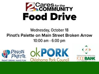 Donate to Food Bank in Broken Arrow Oct 18