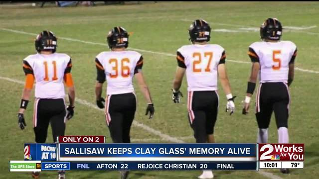 Sallisaw keeps memory of former football player Clay Glass alive