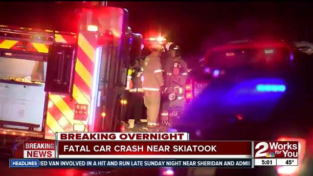 Two people dead after car accident in Skiatook