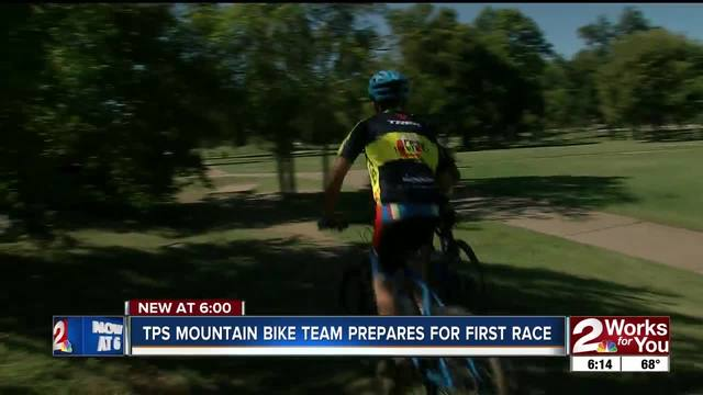 TPS mountain bike team prepares for first race this weekend