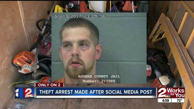 Facebook post helps Rogers County deputies nab burglary suspect- break…