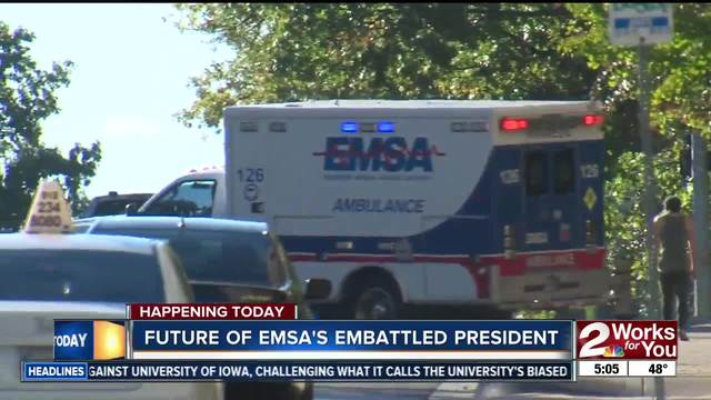 Special meeting to discuss EMSA CEO-s position