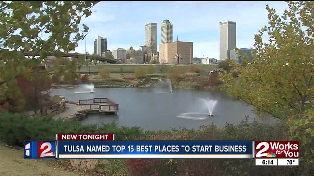 Tulsa named as one of the top 15 places to start a small business