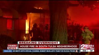 No injuries reported at vacant house fire