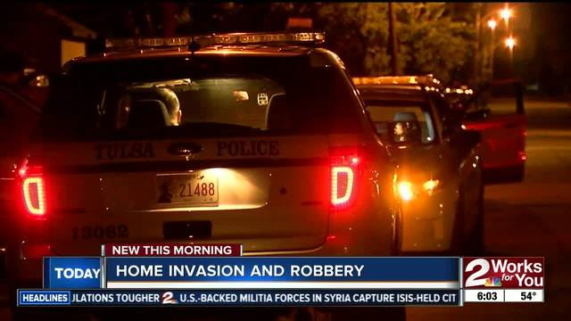 Police search for men after home invasion