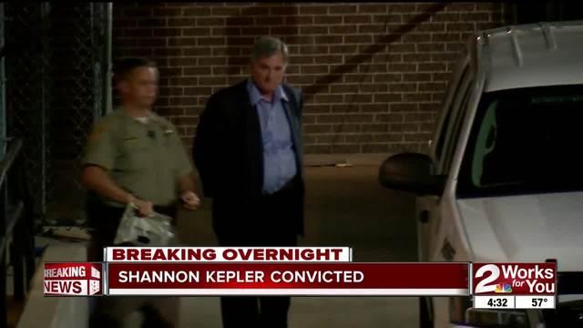 Ex-Tulsa Police Officer Shannon Kepler found guilty of manslaughter