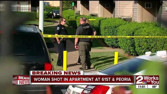 Woman shot at apartment near 61st and Peoria