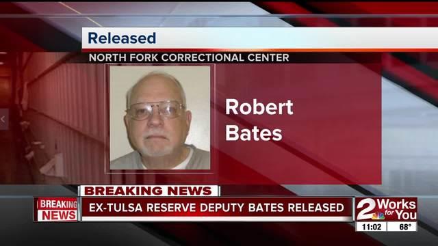 Ex-Tulsa reserve deputy Robert Bates released from prison