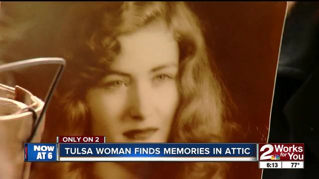 Tulsa woman finds old portraits in attic- hopes to put them back in the…