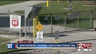 Jenks council member concerned about butane tank