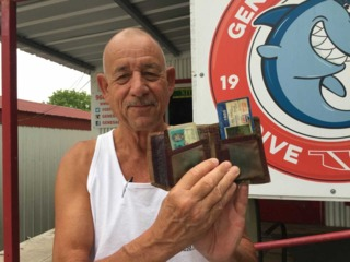 Wallet lost in lake 30 years ago recovered