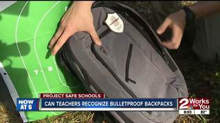 How do bulletproof backpacks work?