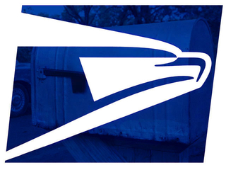 USPS logo imposed on mail box