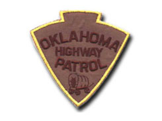 Oklahoma Highway Patrol shoulder patch