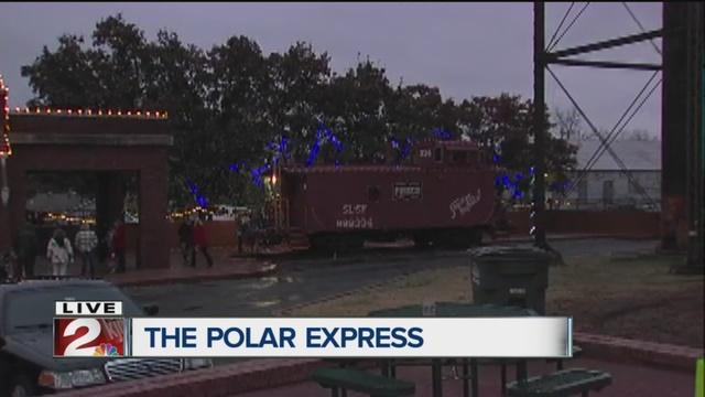 Polar express holiday train ride moves from bristow to for What is the best polar express train ride