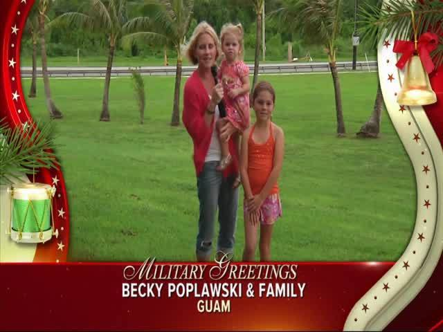 Becky Poplawski and Family