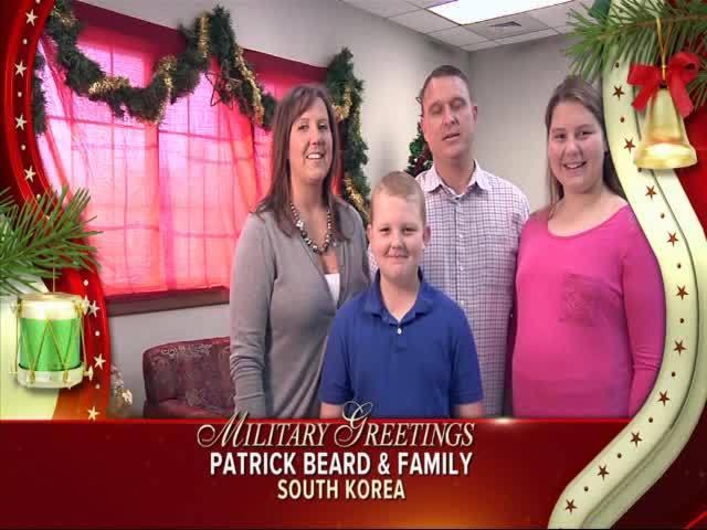 Patrick Beard and Family