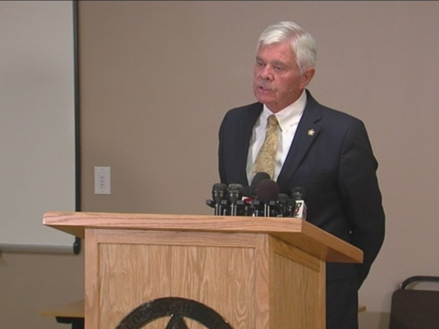 Tulsa County Sheriff Stanley Glanz speaks about Bob Bates, Eric Harris