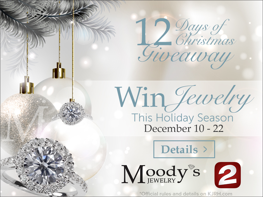 CONTEST: KJRH 2 Works for You, Moody\'s 12 Days of Christmas jewelry ...
